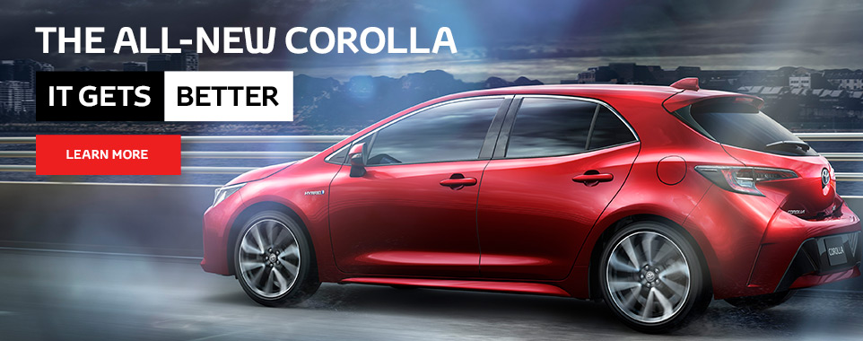 The All New Corolla