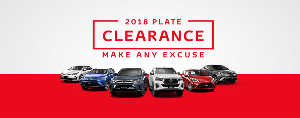 2018 Plate Clearance