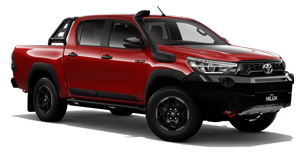 Hilux 4x4 Rugged X (Double-Cab Pick- Up)