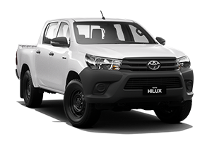 HiLux 4x4 Workmate (Double-Cab Pick- Up)