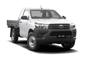 HiLux 4x2 WorkMate (Single-Cab Cab- Chassis)